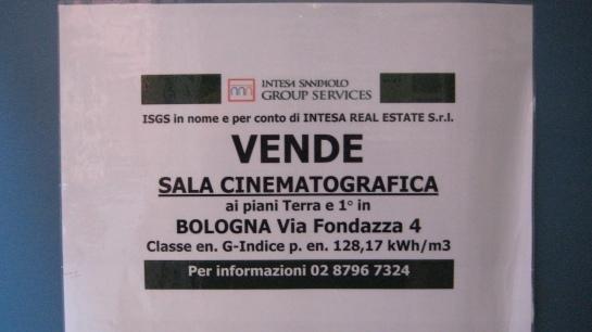 Vendita cinema Roma d'essai